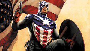 Tokoh Pahlawan Di Marvel Comic Yaitu Captain America